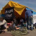 201406_Calais_greve_de_la_faim_des_exiles