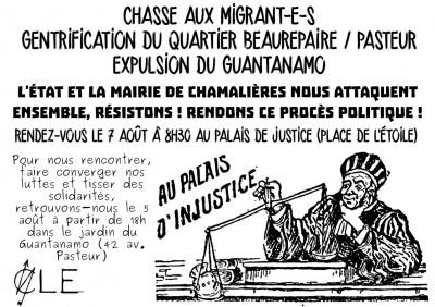20140807_affiche_proces_Guantanamo_Clermont_Ferrand